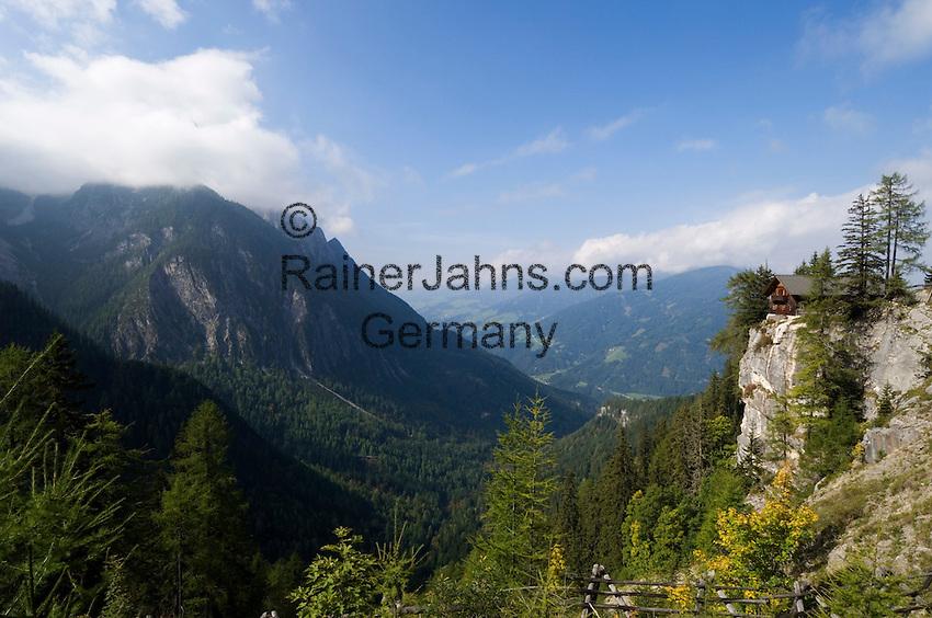 Austria, East-Tyrol, near Lienz: Dolomites hut, mountain Inn