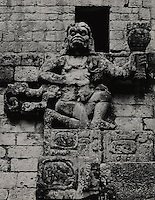 Howler Monkey God or Batz C. 159 AD. Copan Honduras