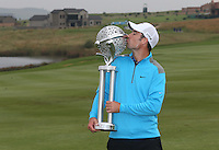 ROSS FISHER is THE CHAMPION GOLFER of The Tshwane Open 2014 at the Els (Copperleaf) Golf Club, City of Tshwane, Pretoria, South Africa. Picture:  David Lloyd / www.golffile.ie