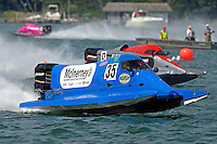 Mike Klepadlo, (#35) and Johnny Fleming, #9<br /> <br /> Trenton Roar On The River<br /> Trenton, Michigan USA<br /> 17-19 July, 2015<br /> <br /> ©2015, Sam Chambers