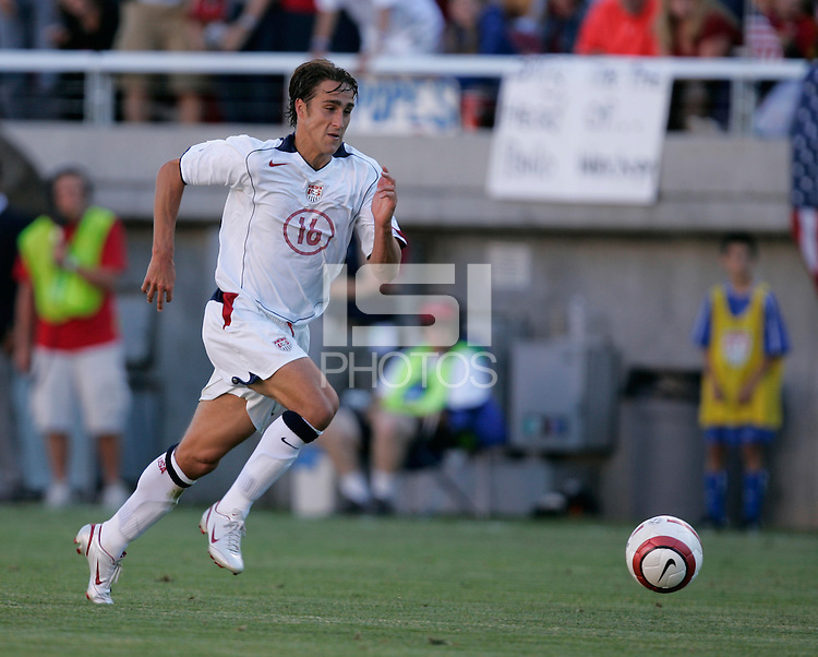 Josh Wolff at Rice-Eccles Stadium, in Salt Lake City, UT, Saturday, June 4, 2005. USA won 3-0.