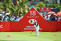 SINGAPORE - MARCH 03: Eun-Hee Ji of South Korea on the 18th tee during the final round of the HSBC Women's World Championship 2019 at Sentosa Golf Club - Tanjong Course, Singapore on March 03, 2019.<br /> .<br /> .<br /> .<br /> (Photo by: Naratip Golf Srisupab/SEALs Sports Images)<br /> .<br /> Any image use must include a mandatory credit line adjacent to the content which should read: Naratip Golf Srisupab/SEALs Sports Images