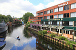 Premier Inn, Nelson Pub restaurant, River Wensum, Norwich, Norfolk, England, UK