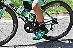 Bora-Hansgrohe rider in action during La Fleche Wallonne 2018 running 198.5km from Seraing to Huy, Belgium. 18/04/2018.<br /> Picture: ASO/Karen Edwards | Cyclefile <br /> <br /> All photos usage must carry mandatory copyright credit (&copy; Cyclefile | ASO/Karen Edwards)