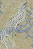 Birds and Branches, a hand cut jewel glass mosaic, is shown in Quartz, Chalcedony, Citrine, Labradorite, Opal and Aquamarine.