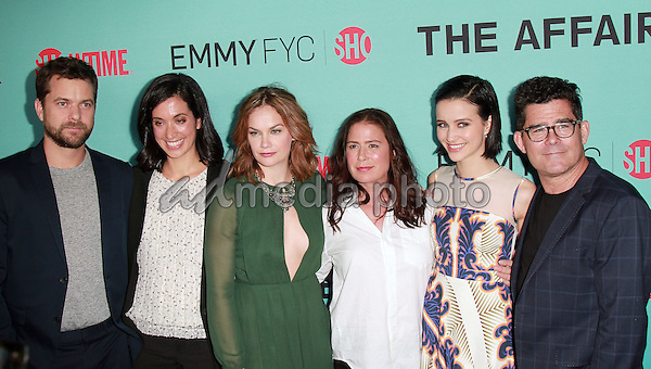 "06 May 2015 - Beverly Hills, California -  Joshua Jackson, Ruth Wilson, Maura Tierney, Julia Golden Telles. Showtime Presents  An Exclusive Screening & Panel Discussion with Breakout Hit ""The Affair"" held at Samuel Goldwyn Theater. Photo Credit: Theresa Bouche/AdMedia"