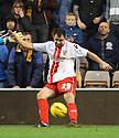 Peter Hartley of Stevenage<br />  - Wolverhampton Wanderers v Stevenage - Sky Bet League One - Molineux, Wolverhampton - 2nd November 2013. <br /> © Kevin Coleman 2013