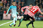 Athletic de Bilbao's Xabier Etxeita (c) and Raul Garcia (r) and FC Barcelona's Neymar Santos Jr during Spanish Kings Cup match. January 05,2017. (ALTERPHOTOS/Acero)
