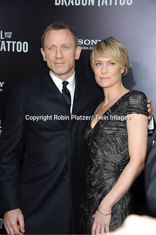 Robin Wright Girl With Dragon Tattoo New York Premie...