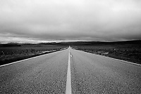 UNITED STATES / Montana / May 1998..The view along a highway in Montana...© Davin Ellicson / Anzenberger