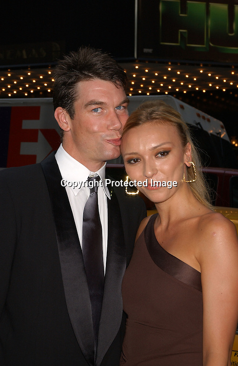 Jerry O' Connell and girlfriend E! co-host Guiliana                                                               ..at the National 2003 Gracie Allen Awards event on        June 26, 2003 at the New York Hilton...Photo by Robin Platzer, Twin Images