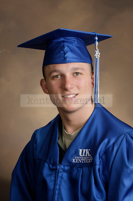 Bloomquist, Eric photographed during the Feb/Mar, 2013, Grad Salute in Lexington, Ky.