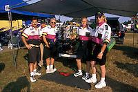Wyatt Nelson Racing:  (L to R): Wyatt Nelson, Fred Nelson, crew chief Bill Hesson, Randy Spitler and Daryl Balcom. Altamonte Springs,FL 1998 (SST-120)