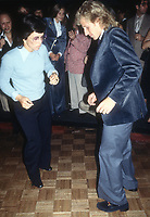 Billie Jean King Vitas Gerulaitis at Studio 54 1978<br /> Photo By Adam ScullPHOTOlink.net