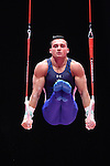 Gymnastics World Championships Mens Qualifications  26.10.15. USA in action. Brandon Wynn