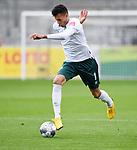 FussballFussball: agnph001:  1. Bundesliga Saison 2019/2020 27. Spieltag 23.05.2020<br /> SC Freiburg - SV Werder Bremen<br /> Davie Selke (SV Werder Bremen) am Ball<br /> FOTO: Markus Ulmer/Pressefoto Ulmer/ /Pool/gumzmedia/nordphoto<br /> <br /> Nur für journalistische Zwecke! Only for editorial use! <br /> No commercial usage!
