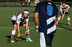 Action during the Men's National Under 21 Championships between Auckland and North Harbour,  Lloyd Elsmore Park, Auckland, New Zealand. Saturday 6 May 2017. Photo:Simon Watts / www.bwmedia.co.nz