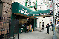The Blarney Stone Pub in Midtown in New York is seen on Thursday, March 4, 2010. In advance for St. Patrick's Day. (© Richard B. Levine)