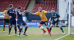 Ryan Stevenson in the Ross County goalmouth