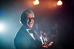 &copy; Joel Goodman - 07973 332324 . 01/03/2018 . Manchester , UK . Lifetime Achievement Award<br /> to ANTHONY LYONS of Kuits . The Manchester Evening News Legal Awards at the Midland Hotel in Manchester City Centre . Photo credit : Joel Goodman