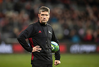 Ronan O'Gara, Backs Coach Crusaders 2018 Super Rugby final between the Crusaders and Lions at AMI Stadium in Christchurch, New Zealand on Sunday, 29 July 2018. Photo: Joe Johnson / lintottphoto.co.nz