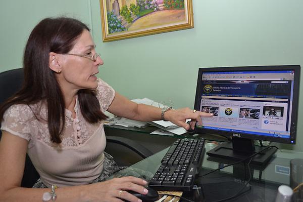 Maria Paz Conde Vitores, directora tecnica de la Oficina Tecnica de Transporte Terrestre..Foto: Cesar de la Cruz