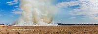 63863-03101 Prescribed Burn by IDNR Prairie Ridge State Natural Area Marion Co. IL