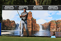 Gareth Paddison (NZL) in action on the 12th during Round 2 of the ISPS Handa World Super 6 Perth at Lake Karrinyup Country Club on the Friday 9th February 2018.<br /> Picture:  Thos Caffrey / www.golffile.ie<br /> <br /> All photo usage must carry mandatory copyright credit (&copy; Golffile   Thos Caffrey)