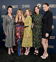 30 May 2019 - West Hollywood, California - Debi Mazar, Hilary Duff, Molly Bernard, Miriam Shor, Sutton Foster. Paramount Network, Comedy Central, TV Land Press Day 2019 held at The London West Hollywood  . Photo Credit: Birdie Thompson/AdMedia<br /> CAP/ADM/BT<br /> ©BT/ADM/Capital Pictures