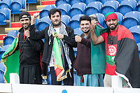 The Afghanistan fans  in good spirits ahead of  Afghanistan vs Sri Lanka, ICC World Cup Cricket at Sophia Gardens Cardiff on 4th June 2019