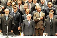 SÃO PAULO,SP,18.12.2018 - DIPLOMAÇÃO-SP - Rodrigo Garcia; Joao Doria e major Olimbio cerimonia de diplomação dos candidatos eleitos para assumir o cargo em janeiro 2019. A cerimonia foi realizada na sala Sao Paulo nesta terça-feira, 18. (Foto Dorival Rosa/Brazil Photo Press)