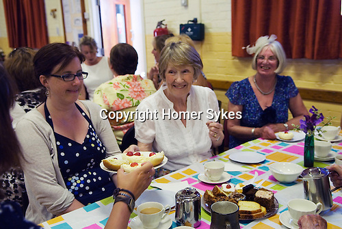 Stowey Female Friendly Society ( The Womens Walk ) Club Day. Cream tea in the Village Hall. - £5.00.<br />