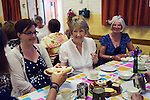 Stowey Female Friendly Society ( The Womens Walk ) Club Day. Cream tea in the Village Hall. - &pound;5.00.<br />