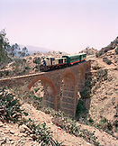 ERITREA, Shegrine Valley, the train that runs between the mountain town of Asmara to the Port town of Massawa