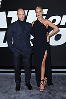 www.acepixs.com<br /> April 8, 2017  New York City<br /> <br /> Jason Statham and Rosie Huntington-Whiteley attending 'The Fate Of The Furious' New York premiere at Radio City Music Hall on April 8, 2017 in New York City.<br /> <br /> Credit: Kristin Callahan/ACE Pictures<br /> <br /> <br /> Tel: 646 769 0430<br /> Email: info@acepixs.com