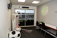 Pictured: Swansea City DSA open a sensory room in the Liberty Stadium, Swansea, Wales, UK. Tuesday 01 October 2019