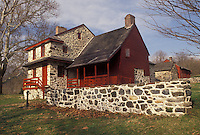 AJ3313, Brandywine Valley, Pennsylvania, Lafayette's Quarters at Brandywine Battlefield Park in Chadds Ford in the state of Pennsylvania.