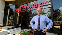 Toll Brothers new Chief Executive Officer Doug Yearley  at the company Headquarters facility Wednesday, August 11, 2010 in Horsham, Pa. (Bradley C Bower/Bloomberg News)