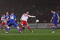 Marcus Haber of Stevenage shoots at goal.  Stevenage v Portsmouth - npower League 1 -  Lamex Stadium, Stevenage - 23rd October, 2012. © Kevin Coleman 2012.
