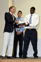 SAN ANTONIO, TX - APRIL 27, 2008: The University of Texas at San Antonio Roadrunner Athletic Department Banquet at the UTSA Main Building Auditorium. (Photo by Jeff Huehn)