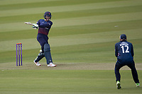 Keaton Jennings of Lancashire CCC pulls a short delivery straight to Sam Robson of Middlesex CCC during Middlesex vs Lancashire, Royal London One-Day Cup Cricket at Lord's Cricket Ground on 10th May 2019