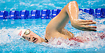 Sabrina Duchesne, 15 years old, of St-Augustin, QC, competes in the women's 400m freestyle S8 classification heats at the Olympic Aquatics Stadium during the Paralympic Games in Rio de Janeiro, Brazil, on September 8, 2016.