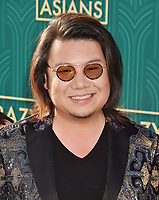 HOLLYWOOD, CA - AUGUST 07: Author Kevin Kwan arrives at the Warner Bros. Pictures' 'Crazy Rich Asians' premiere at the TCL Chinese Theatre IMAX on August 7, 2018 in Hollywood, California.<br /> CAP/ROT/TM<br /> &copy;TM/ROT/Capital Pictures
