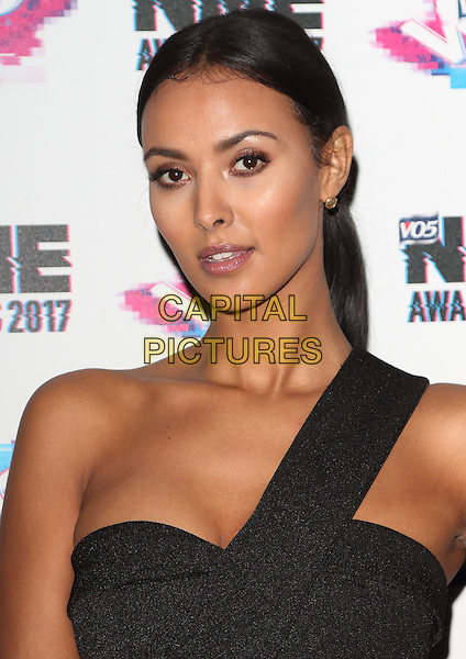 Maya Jama at The VO5 NME Awards 2017 at the O2 Academy, Brixton, London on February 15th 2017<br /> CAP/ROS<br /> &copy;Steve Ross/Capital Pictures