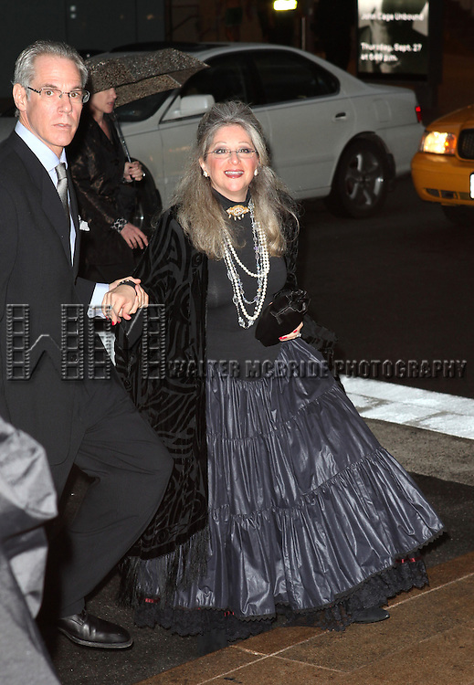 Julie Budd attending the Memorial To Honor Marvin Hamlisch at the Peter Jay Sharp Theater in New York City on 9/18/2012.