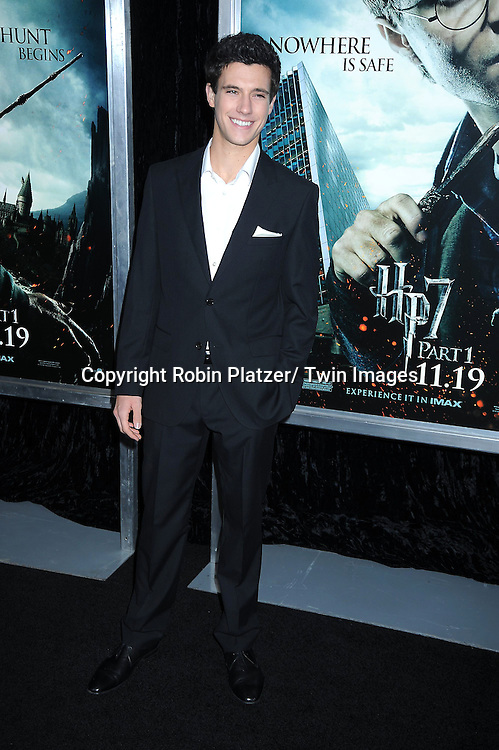 """Darren Kriss attending The New York Premiere of .""""Harry Potter and the Deathly Hallows-Part 1"""" on November 15, 2010 at Alice Tully Hall"""