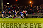David Moran Kerry in action against Tom Parsons Mayo in the National Football league at Austin Stack Park, Tralee on Saturday night.