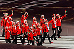Olympic team of Belarus during the parade of nations at the Opening ceremony of the 2014 Sochi Olympic Winter Games at Fisht Olympic Stadium on February 7, 2014 in Sochi, Russia. Photo by Victor Fraile / Power Sport Images