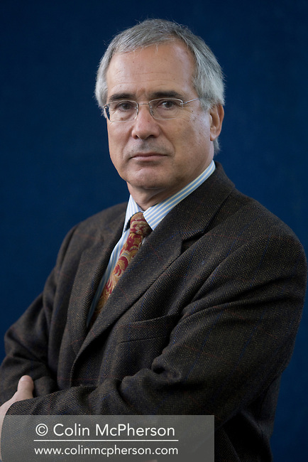 British economist and academic Lord Nicholas Stern, pictured at the Edinburgh International Book Festival where he talked about his work on climate change and his new book entitled 'A Blueprint for a Safer Planet'. The three-week event is the world's biggest literary festival and is held during the annual Edinburgh Festival. The 2009 event featured talks and presentations by more than 500 authors from around the world.