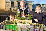 WINTER GARDEN: Parent and pupils at Killahan national school with some of the winter garden project they are involved in, l-r: Evan Knight, Dominic Knight, Linda Fitzgerald Scanlon.